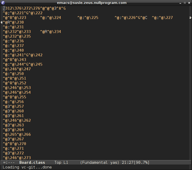 Viewing Java Class Files in Emacs « null program
