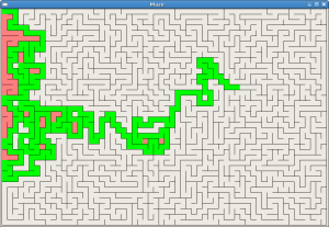 Java Animated Maze Generator and Solver « null program